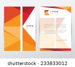 Brochure Cover And Letterhead...