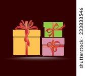vector icon gift box icon....