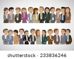 group of business people  ... | Shutterstock .eps vector #233836246