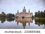 Stock photo new town hall in hanover germany in the morning 233885086