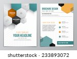 brochure design template.... | Shutterstock .eps vector #233893072