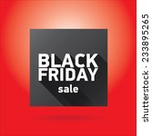 black friday sales tag or... | Shutterstock .eps vector #233895265
