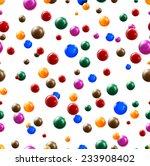 3d balls seamless background....