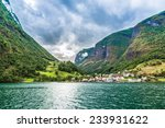 scenic summer panorama of the... | Shutterstock . vector #233931622