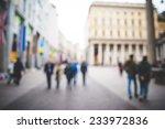 blurred urban milan landscape... | Shutterstock . vector #233972836