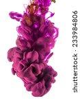 color drop in water ... | Shutterstock . vector #233984806