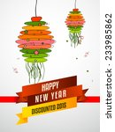 happy new year celebration ... | Shutterstock .eps vector #233985862