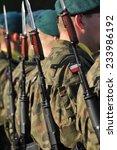 polish soldiers   Shutterstock . vector #233986192