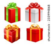 gift set. vector | Shutterstock .eps vector #233994868