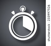 vector stopwatch icon | Shutterstock .eps vector #233997526