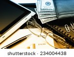 business accounting | Shutterstock . vector #234004438