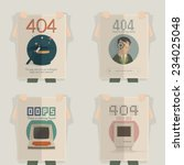 website design template element ... | Shutterstock .eps vector #234025048