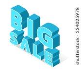 big sale | Shutterstock .eps vector #234025978