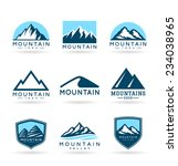 mountains  5  | Shutterstock .eps vector #234038965