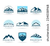 mountains  4  | Shutterstock .eps vector #234038968