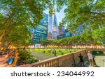 Relaxing In Bryant Park After...