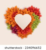 heart shaped background | Shutterstock .eps vector #234096652