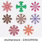 illustration of several... | Shutterstock .eps vector #234109456