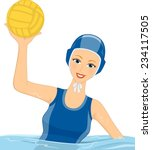 illustration featuring a female ...   Shutterstock .eps vector #234117505