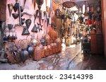 souvenir lamp shop in the...