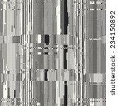 art abstract  glitch textured... | Shutterstock .eps vector #234150892