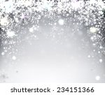 silver winter abstract... | Shutterstock .eps vector #234151366