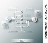 modern infographic option... | Shutterstock .eps vector #234157096