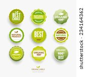 set of vector labels and... | Shutterstock .eps vector #234164362