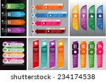 colorful modern text box... | Shutterstock .eps vector #234174538