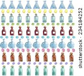 set of watercolor medical icons ...   Shutterstock .eps vector #234184252