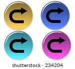 button design | Shutterstock . vector #234204