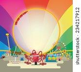 vector illustration of... | Shutterstock .eps vector #234217912