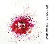 christmas | Shutterstock .eps vector #234220435