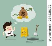 careless businessman | Shutterstock .eps vector #234228172