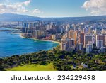 Spectacular View Of Honolulu...