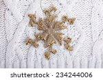 christmas composition... | Shutterstock . vector #234244006