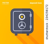deposit box vector illustration | Shutterstock .eps vector #234258172
