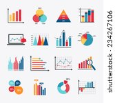 business data market elements... | Shutterstock .eps vector #234267106