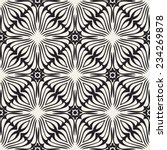 abstract geometric lace vector... | Shutterstock .eps vector #234269878