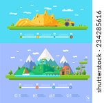 vector ecology illustration... | Shutterstock .eps vector #234285616