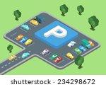 flat style 3d isometric vector...   Shutterstock .eps vector #234298672