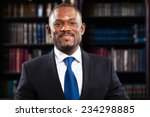african lawyer in his studio | Shutterstock . vector #234298885