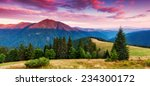majestic sunset in the... | Shutterstock . vector #234300172