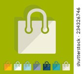 flat design  bag | Shutterstock .eps vector #234326746