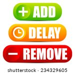 add  delay and remove button...