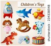 Set Of Kid's Toys. Part 2....