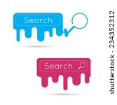 search with a magnifying glass. ...