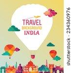 india. vector illustration | Shutterstock .eps vector #234360976