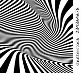 pattern with optical illusion.... | Shutterstock .eps vector #234364678
