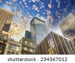 spectacular street upward view... | Shutterstock . vector #234367012